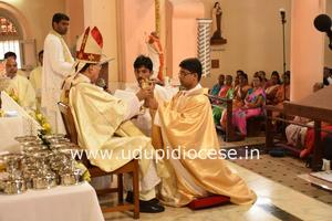 Priestly Ordination of Dn Jithesh Castelino
