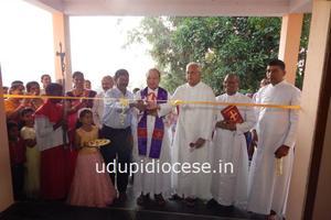 Bishop Gerald Lobo inaugurated the new Samudaya Bhavan' at Byndoor