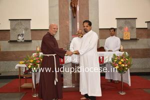 New Editor of 'Uzvaad' takes charge at Bishop's House, Udupi