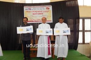 Indian Postal Dept. released Post Card, Special Cover and Stamp on  St Lawrence Minor Basilica of Attur