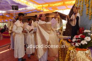 The Feast of St. Joseph Vaz Celebrated at Kannada Kudru, Gangolli