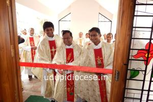Inauguration and Blessing of the Holy Cross Students' Home