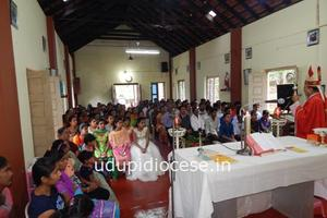 Pastoral Visit to St Theresa Church, Kera