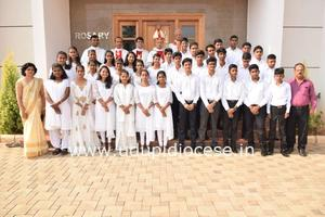 Pastoral Visit to Holy Rosary Church, Kundapur