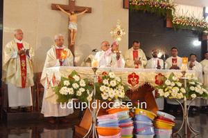 Golden Jubilee and Titular Feast of St Antony celebrated at Kerekatte