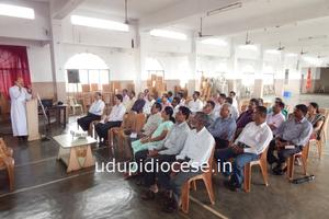 Udupi Diocesan Parish Council Vice Presidents' On-going Formation