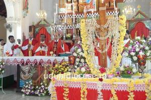Udupi Diocesan Jericho Cross Concluding Ceremony at Milagres Cathedral