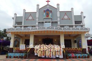 Inauguration and Blessing of Renovated Church, Grotto and Golden Jubilee Celebration at Parapady