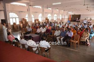Udupi Diocesan PPC Vice Presidents' and Secretaries' On-going Formation