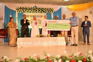 The Milagres Alumni (NRI) scholarship distribution Program at Kallianpur