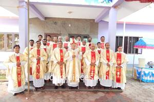 St Peter's Church Pethri Celebrates the Golden Jubilee