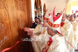 Inauguration and Blessing of New Church at Gangolli
