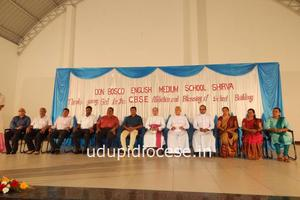 Blessing of the new CBSE School Building at Shirva