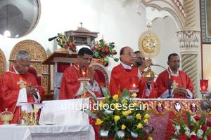 First Anniversary Celebrated at St. Lawrence Basilica, Karkal, Attur