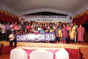 Lourdes Sports Meet 2K18 at Kanajar