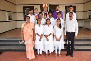 Pastoral Visit to St AnthonyChurch, Kuntalnagar