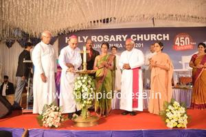 450 years Jubilee Celebrated at Holy Rosary Church, Kundapur