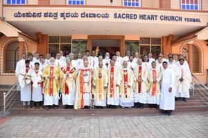 Rev. Fr. Lawrence Rodrigues celebrates Golden Jubilee of Priesthood