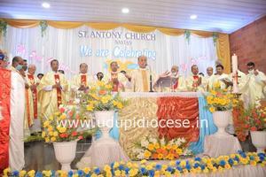 Centenary Celebrations Held at St Antony's Church, Sastan