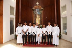 Pastoral Visit to Stella Maris Church, Kalmady