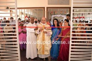 Blessing of Parochial House at Manipal