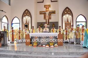 Four Capuchin Deacons Ordained as Priests at Moodubelle