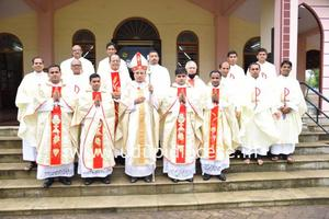 Four Deacons Ordained as Priests at Katapadi