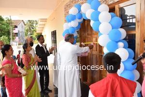 New `St Joseph Vaz Parish Hall' Inaugurated at Gangolli