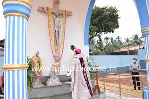 Udupi Diocesan Priests' Cemetery Blessed at Santhekatte